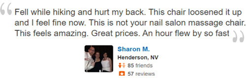 Zero Gravity Massage Review